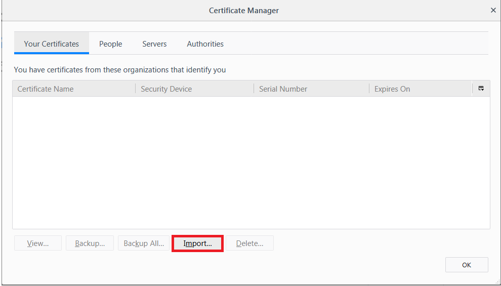 Configuring Firefox ESR v52 on Mac OS — Infonotary