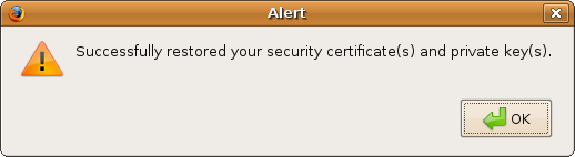 Firefox linux certificates imported.png