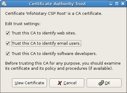 Evolution cert trust.png
