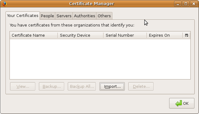 Firefox linux certificate manager.png
